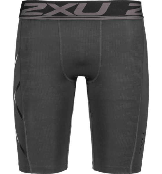 M ACCELERATE PRINT COMPRESSION SHORTS