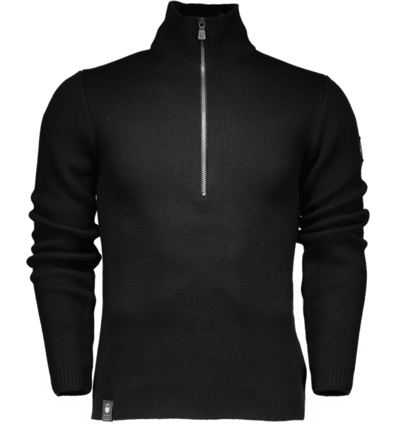 M RACE HEAVY KNITTED HALFZIP