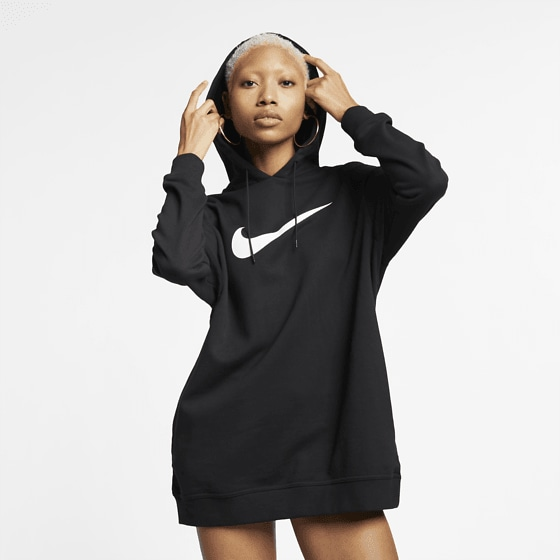 ... 275558102101 NIKE W NSW SWSH HOODIE OS FT Model01 Detail 3fb4dddad0