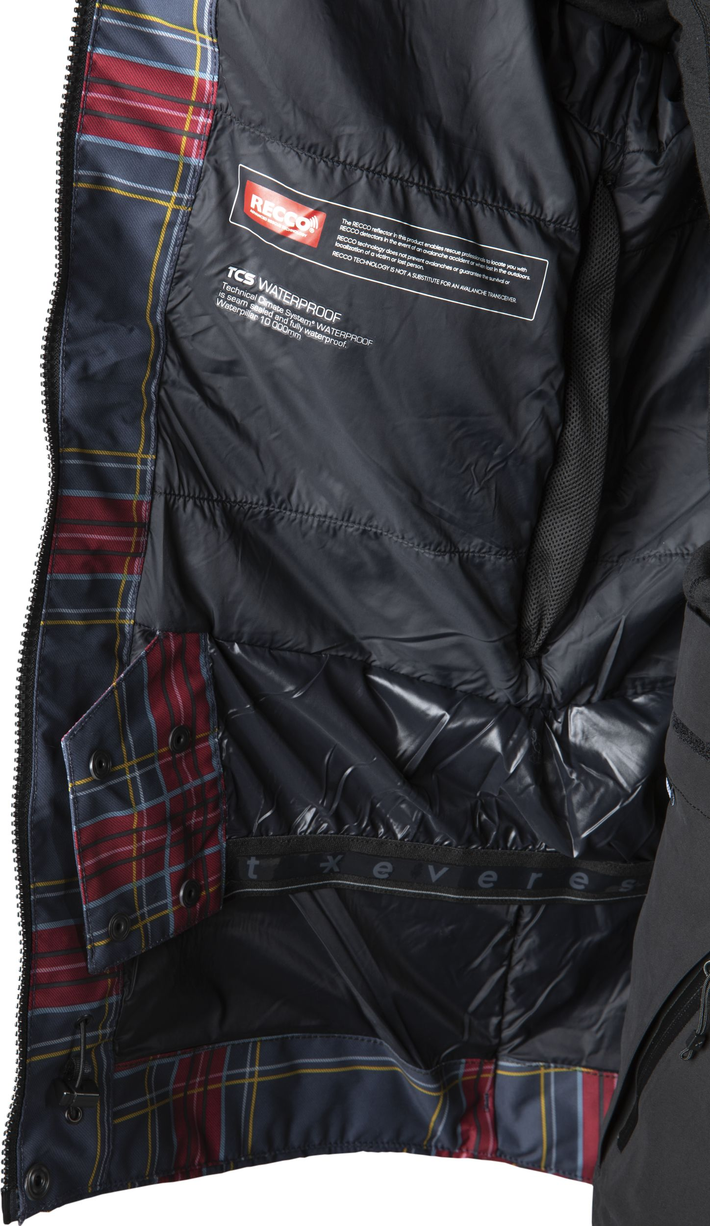 265649105101, W TERRAIN JACKET, EVEREST, Detail
